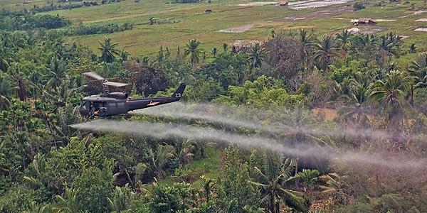 aerial spray